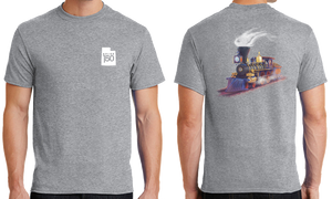 Jupiter Train Illustration T-Shirt