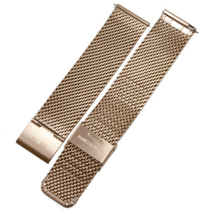 Stainless Steel Wristband - Rose Gold Mesh