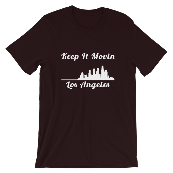 Keep it Movin LA (black tee)