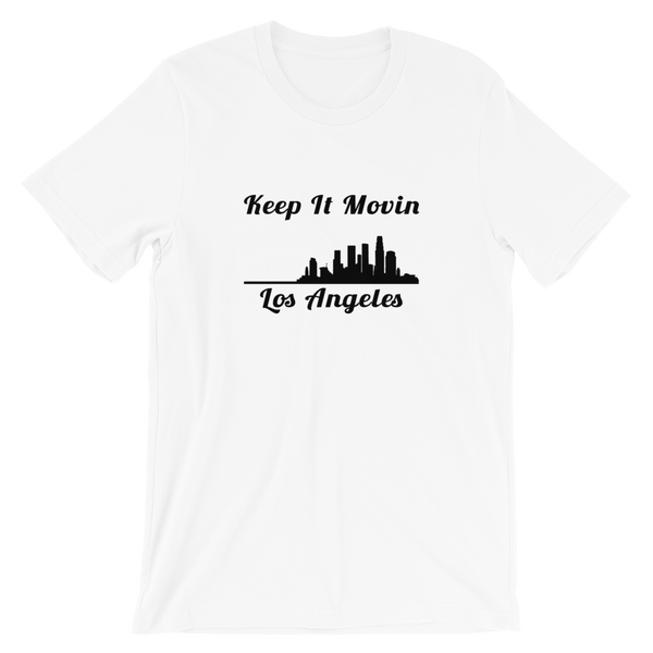 Keep it Movin LA (white tee)
