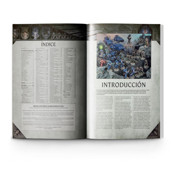 Codex: Space Marines (ES) - WH40k