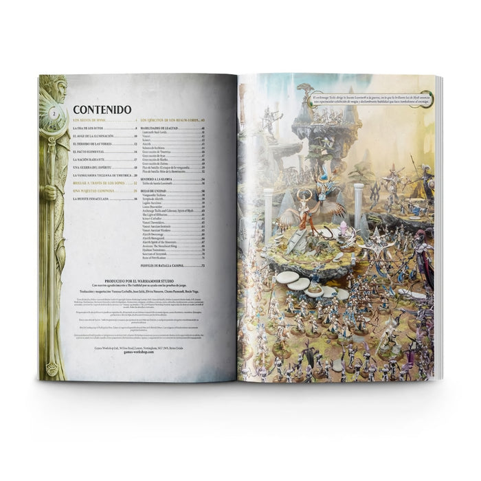 Lumineth Realm-lords Battletome (Español) - WH Age of Sigmar