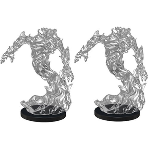 Medium Fire Elemental (2) - Pathfinder Battles Miniatures-RedQueen.mx
