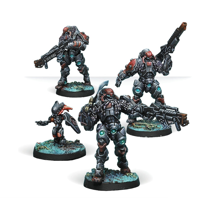 Suryats, Assault Heavy Infantry - Infinity: Combined Army Pack-RedQueen.mx