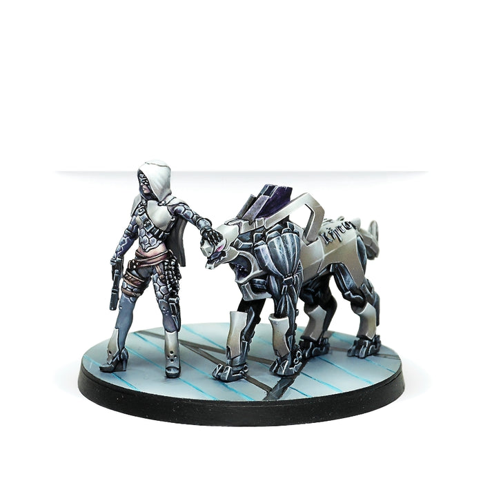 Andromeda, Sophistes of the Steel Phalanx (Submachine gun) - Infinity: ALEPH Pack-RedQueen.mx