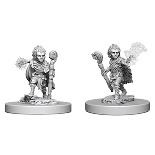 Gnome Male Druid (2) - Pathfinder Battles Miniatures-RedQueen.mx