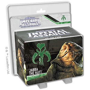 Jabba the Hutt - Imperial Assault Pack-RedQueen.mx