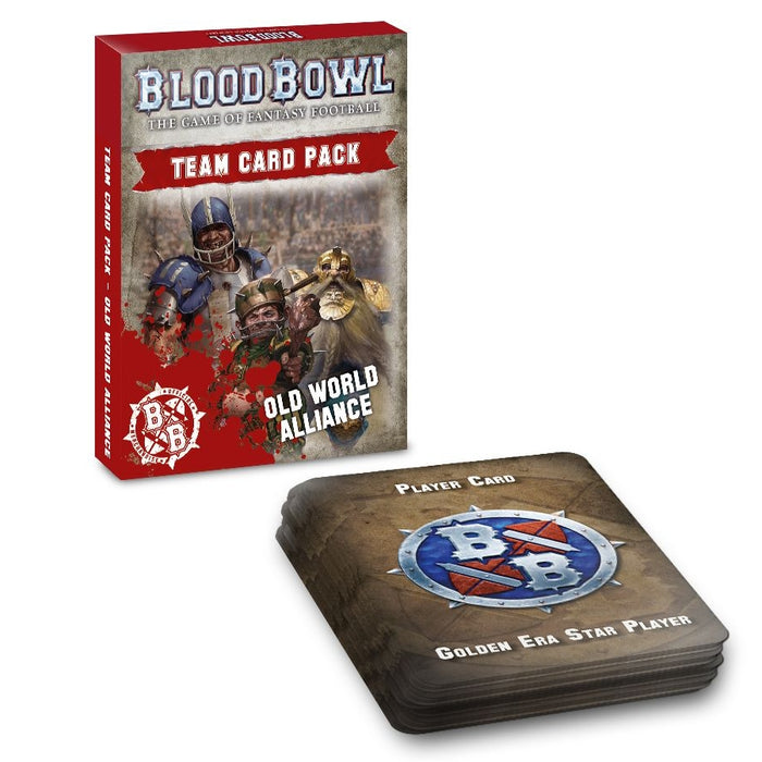 Blood Bowl Old World Alliance Team Card Pack (EN) Preorden-RedQueen.mx
