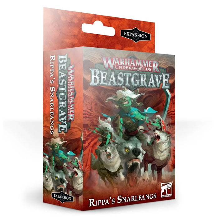 Rippa's Snarlfangs (English) - WH Underworlds: Beastgrave