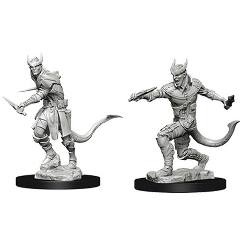 D&D Nolzur's Marvelous Unpainted Minis: Male Tiefling Rogue - WizKids/NECA