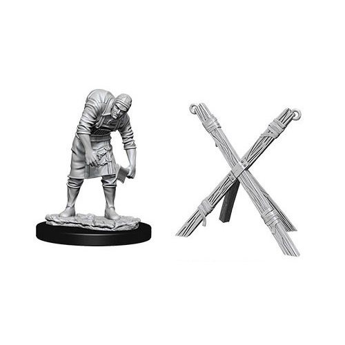 WizKids Deep Cuts Unpainted Miniatures: Assistant & Torture Cross - WizKids/NECA