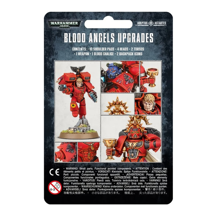 Blood Angels Upgrades - WH40k: Space Marines