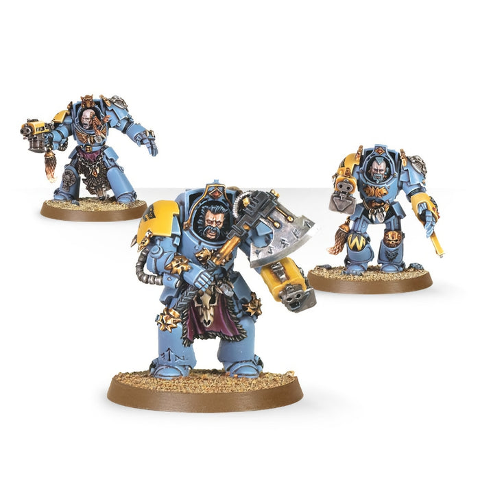Wolf Guard Terminators - WH40k: Space Marines