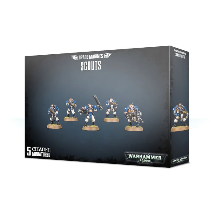 Space Marines Scouts - WH40k: Space Marines