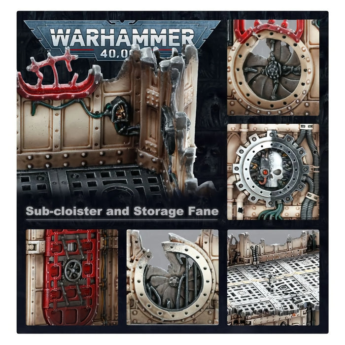 Manufactorum: Sub-cloister and Storage Fane - WH40k: Battlezone