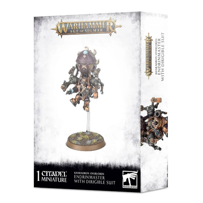 Endrinmaster with Dirigible Suit - WH Age of Sigmar: Kharadron Overlords