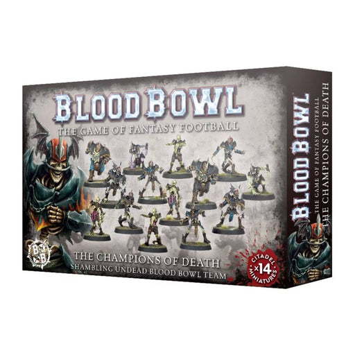 The Champions of Death - Shambling Undead Blood Bowl Team-RedQueen.mx