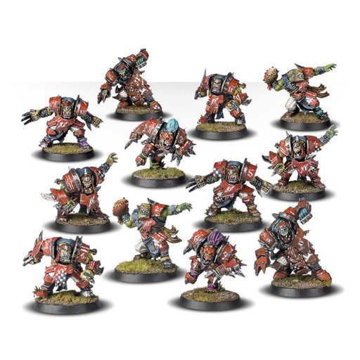 The Gouged Eye - Orc Blood Bowl Team-RedQueen.mx
