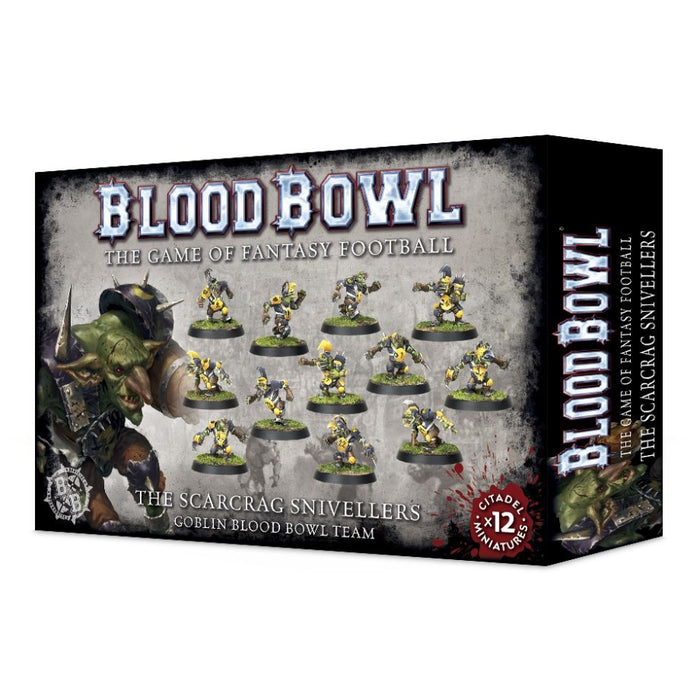 The Scarcrag Snivellers - Goblin Blood Bowl Team-RedQueen.mx