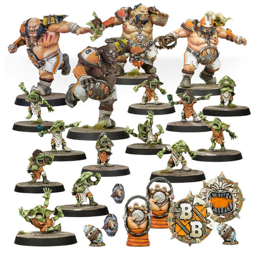 The Fire Mountain Gut Busters - Ogres Blood Bowl Team-RedQueen.mx