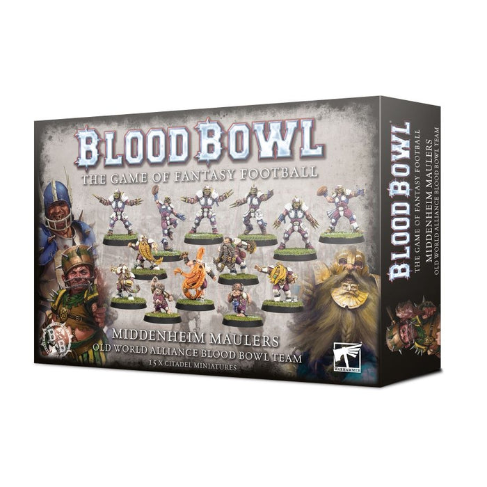 The Middenheim Maulers – Old World Alliance Blood Bowl Team Preorden-RedQueen.mx
