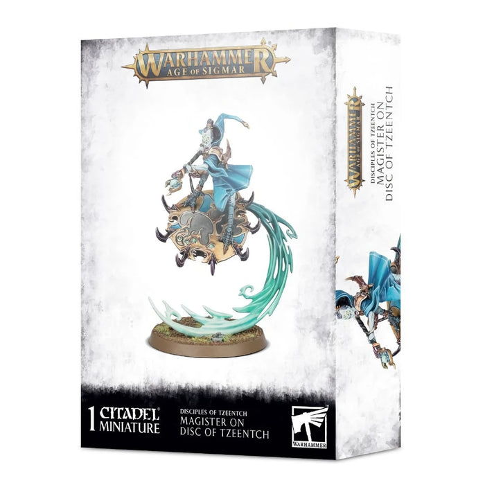 Magister on Disc of Tzeentch - WH Age of Sigmar: Disciples of Tzeentch