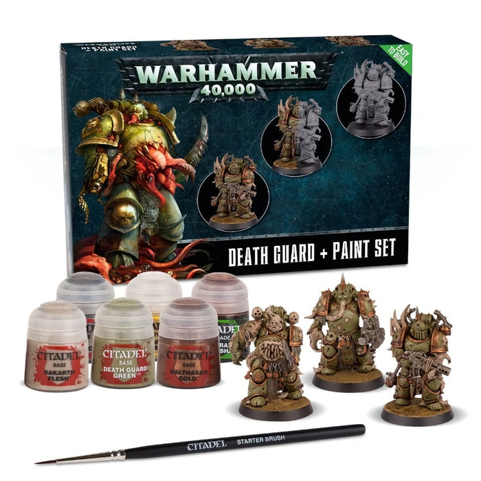 WH40k Death Guard + Set de Pintura