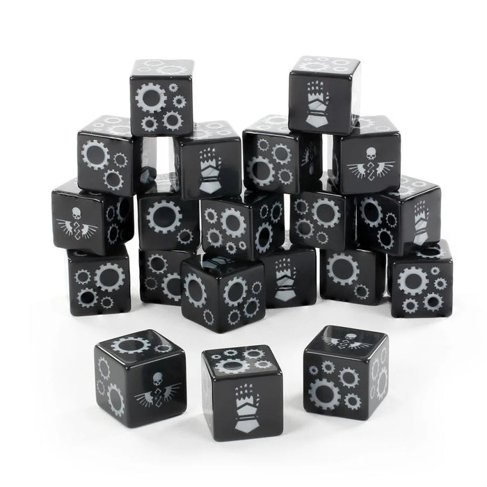 Iron Hands Dice Set (LE) (OOP) - WH40k: Space Marines