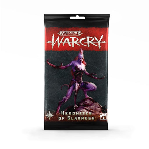 Warcry: Cartas de Hedonites of Slaanesh (EN)-RedQueen.mx