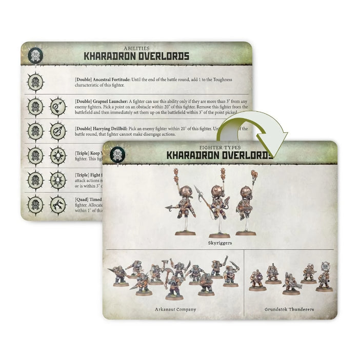 Kharadron Overlords Card Pack (EN) (OOP) - Warcry