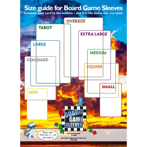 Arcane Tinmen: Tarot Card Board Game Sleeves (70 x 120 mm)