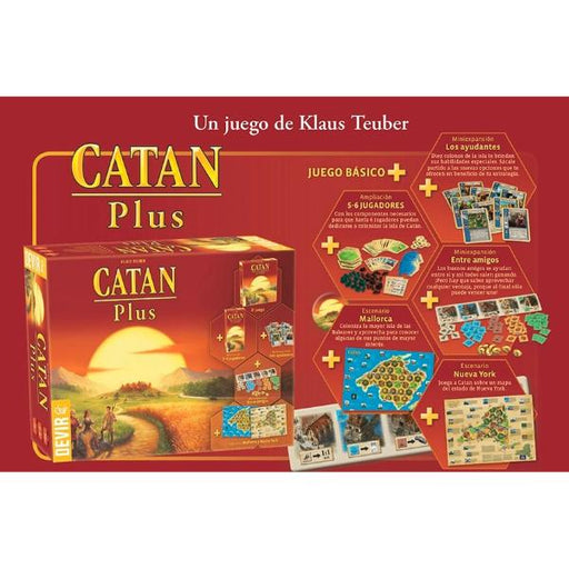 Catan Plus (ES)-RedQueen.mx