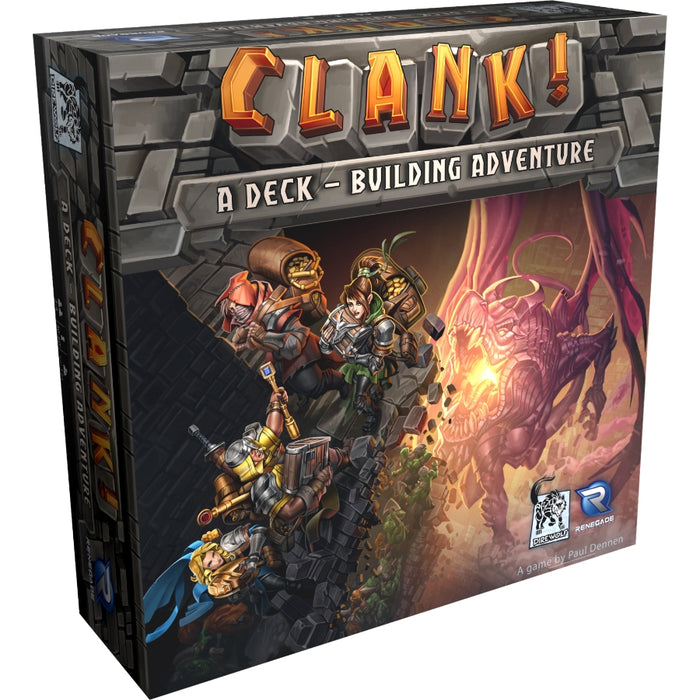 Clank - A Deck Building Adventure (EN)-RedQueen.mx