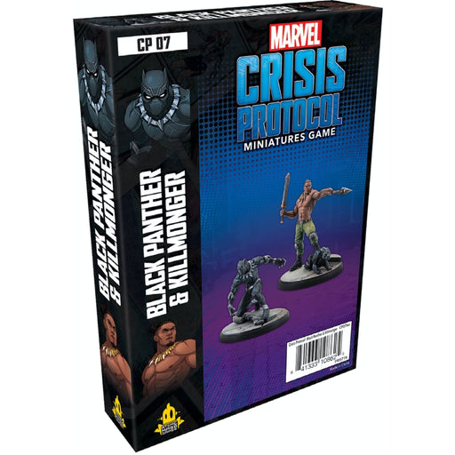 Black Panther & Killmonger - Marvel Crisis Protocol Character Pack-RedQueen.mx