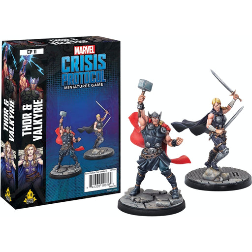 Thor and Valkyrie - Marvel Crisis Protocol Character Pack-RedQueen.mx