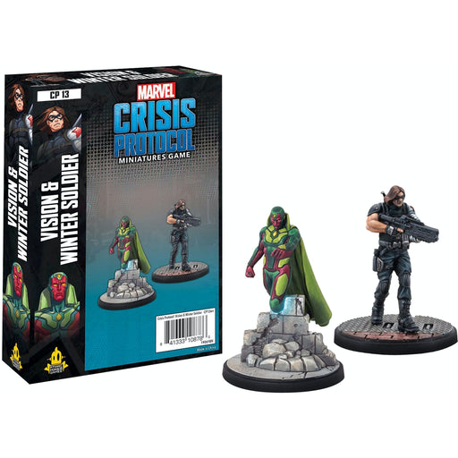 Vision & Winter Soldier - Marvel Crisis Protocol Character Pack-RedQueen.mx