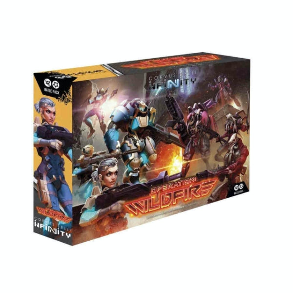 Operation Wildfire (OOP) - Infinity O-12 & Combined Army Battle Pack-RedQueen.mx
