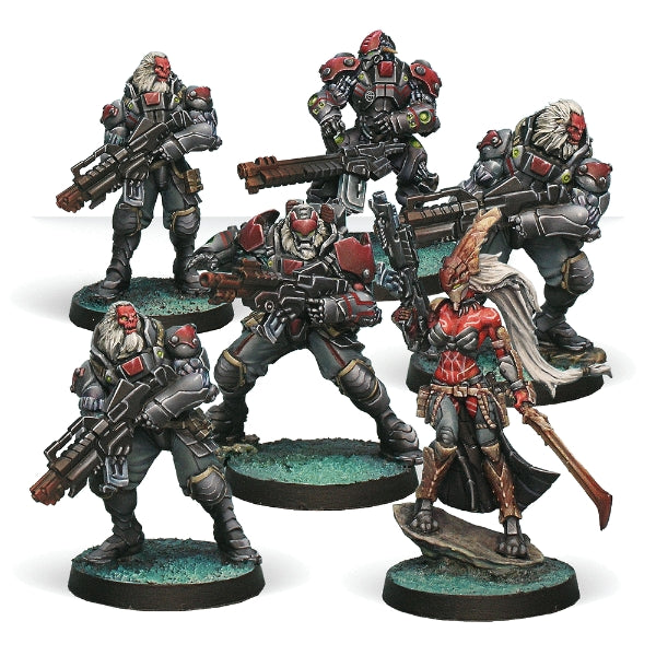 Morat Aggression Forces Sectorial Starter - Infinity: Combined Army Pack-RedQueen.mx