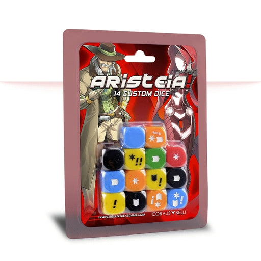 Dice Pack - Aristeia! Accessories-RedQueen.mx
