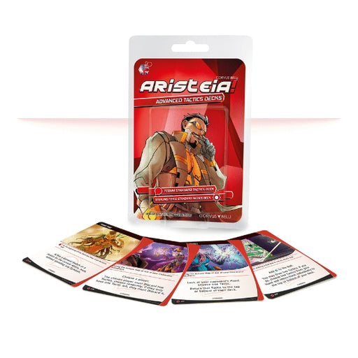 Advanced Tactics Deck (ES) - Aristeia! Accessories-RedQueen.mx