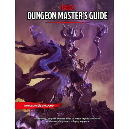 D&D Master Guide Hardcover - Dungeons & Dragons 5E RPG-RedQueen.mx