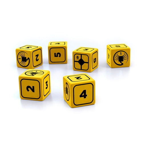 Alien RPG: Stress Dice Set-RedQueen.mx