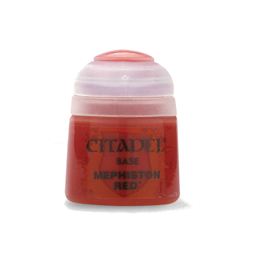 Citadel Colour Base Paint: Mephiston Red (12ml)