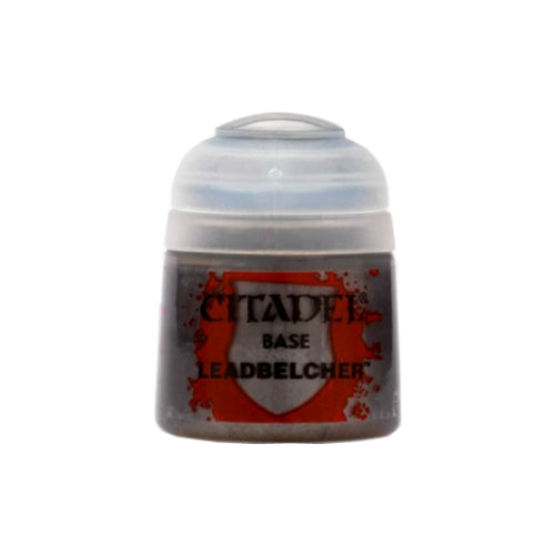 Citadel Colour Base Paint: Leadbelcher (12ml)