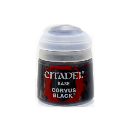 Corvus Black Base (12ml) - Citadel Colour Paint-RedQueen.mx