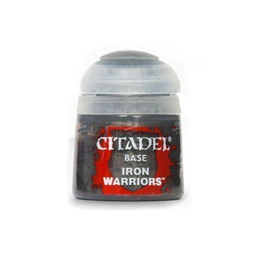 Iron Warriors Base (12ml) - Citadel Colour Paint-RedQueen.mx