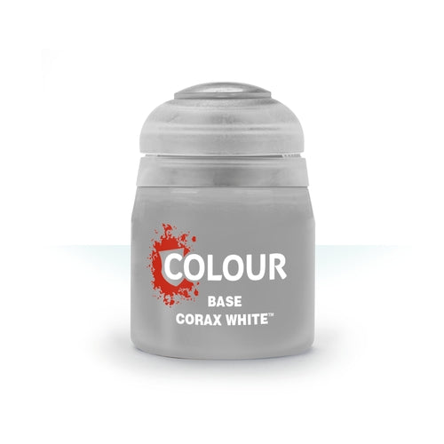 Corax White Base (12ml) - Citadel Colour Paint-RedQueen.mx