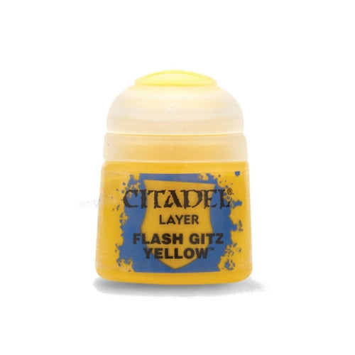 Flash Gitz Yellow Layer (12ml) - Citadel Colour Paint-RedQueen.mx
