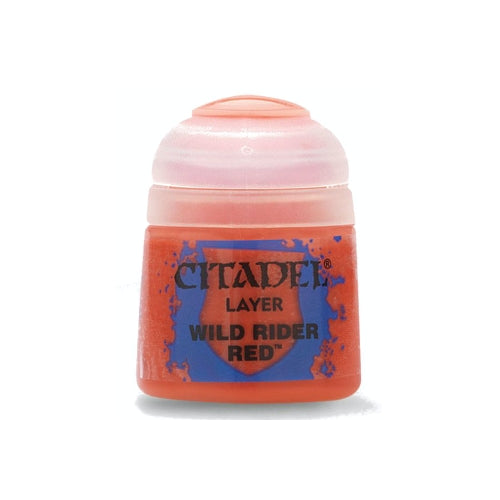 Wild Rider Red Layer (12ml) - Citadel Colour Paint-RedQueen.mx
