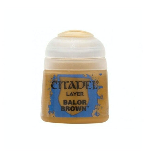 Balor Brown Layer (12ml) - Citadel Colour Paint-RedQueen.mx